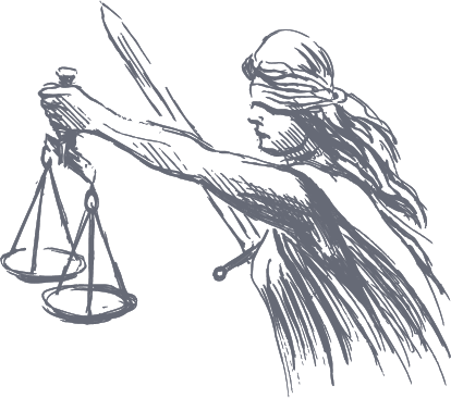 Lady Justice Graphic